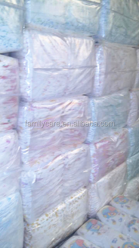 b grade baby diapers in bales/ B grade baby diapers bales stocks lots in bulk