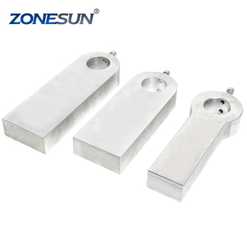 ZONESUN Hot foil stamping machine plate working board for embossing machine embosser stamp shoes leather handbag