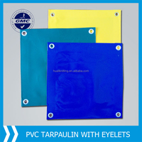 PVC Coated Polyester Tarpaulin Used for Truck Tarpaulin and Side Curtain