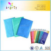 wrapping color tissue paper