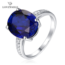 Guangzhou gemstone jewelry market 925 silver ring with blue stone