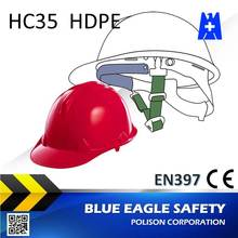 Blue Eagle HC35RD en397 red safety helmet
