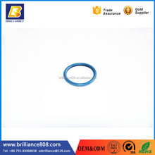 Food Grade Silicone colorful Rounded seals Washers round rubber washer extrusion product for Commercial EMI applications