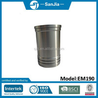 Low price mini rotavator tiller diesel parts EM190 cylinder liner