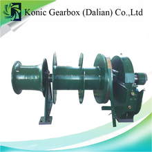 marine hydraulic auto tension split warping drum anchor mooring winch