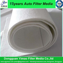 Bulk breather filter material felt fabric, breathing fabric