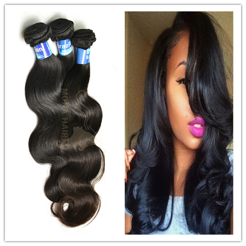 100% hand tied virgin double weft dropshipping Mona remy hair brand names