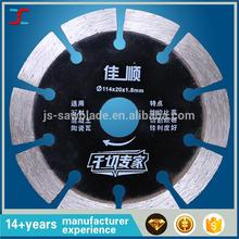 hand 114mm or 4.5 inch diameter diamond saw blade /Small diamond cutting saw blade/sharp and good cutting effect for Granite