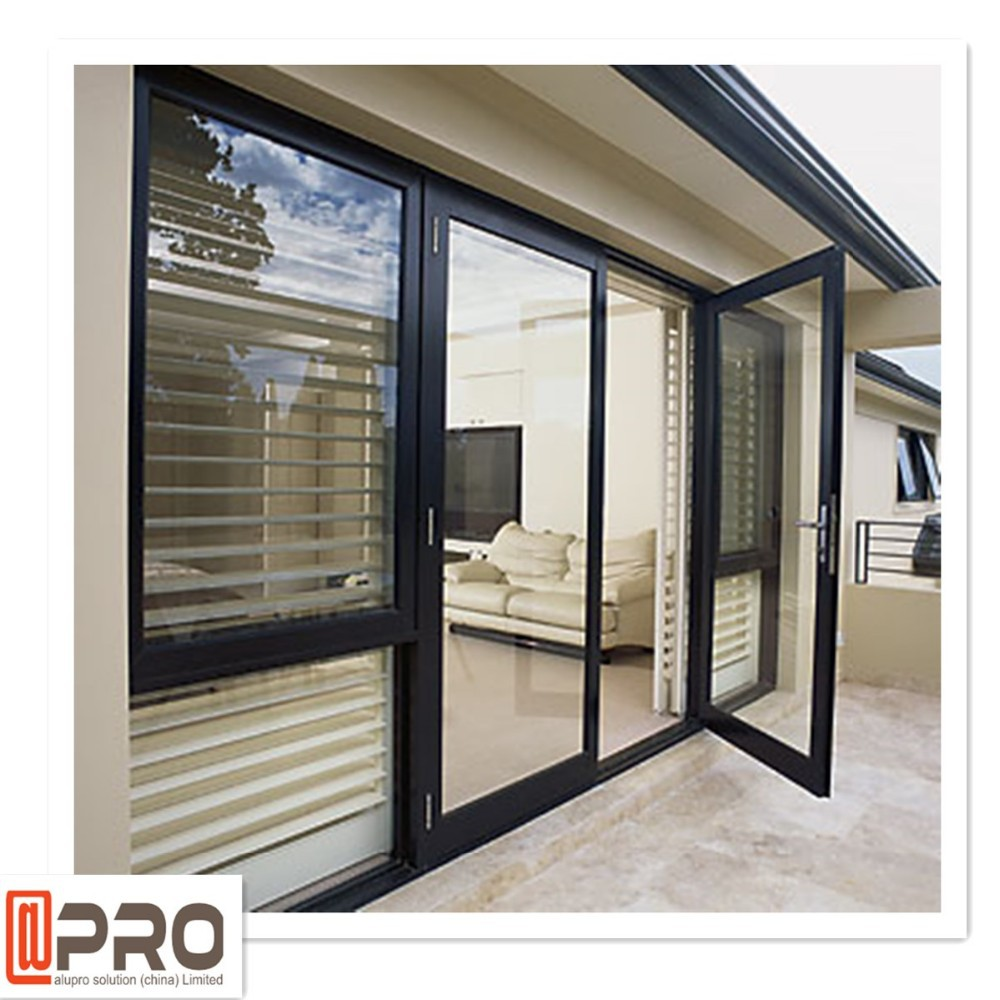 Modern house design aluminum doors and windows
