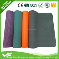 Professional yoga mats with your private label pilates reformer customized printed yoga mat high quality