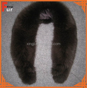 Wholesale Detachable Fox Fur Collar