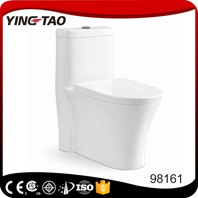 High quality one piece toilet S-trap unique waterless compost toilet design