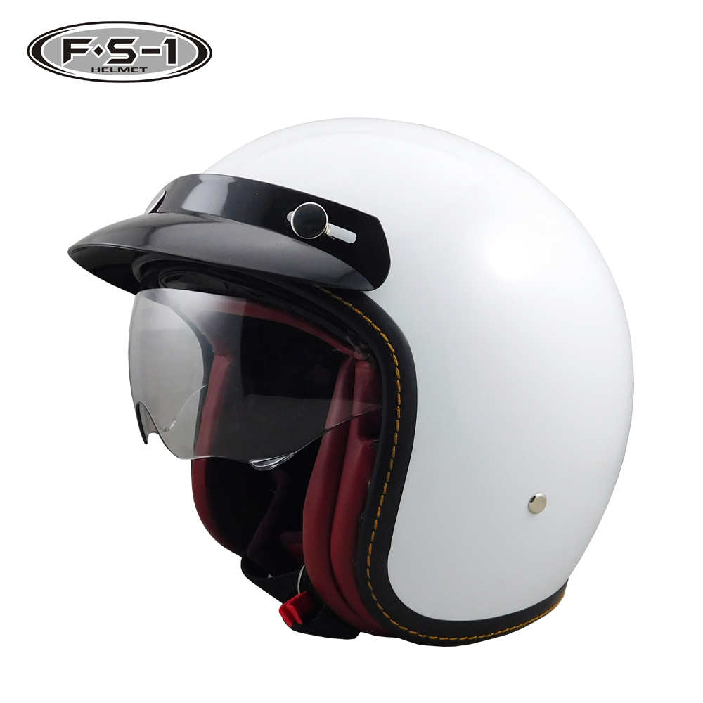 2018 New design ABS material wholesale motorcycle open face Helmet