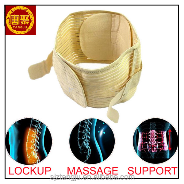 Lumbar Support Belt Back Braces Four Steels Breathable Waist Treatment of Lumbar Disc Herniation Lumber Muscle Strain