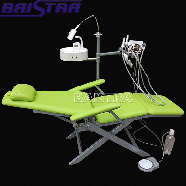Low cost folding portable dental chair for sale