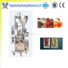 Automatic Pouch Honey Packing Machine , Sauce Pouch Liquid Packing Machine , viscous honey packing machine