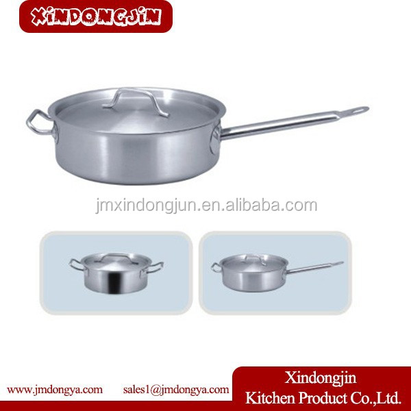 YK03B-300 stainless steel 5pcs pot set/cooking pot/kitchenware