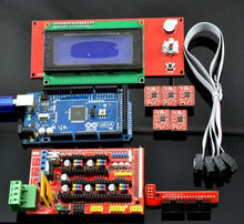 3D Printer ramps1.4 kit Mega 2560 R3 + RAMPS 1.4 Controller + A4988 Stepper Driver Module +2004 lcd controller