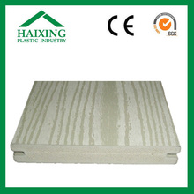 White wood flooring wpc decking composite decking