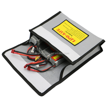 Customized lipo safety guard charge bag