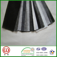 Top hemming paper lining non woven interlinings fabric hot melt