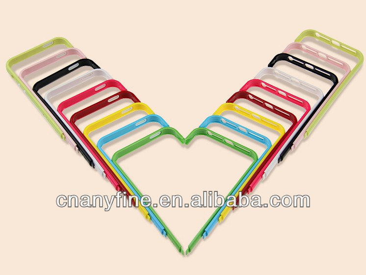2013 new style DIY bumper case for iphone 5,freely grouped case mix 9colors
