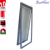 aluminium profile awning window with insert automatic blinds for privacy protection