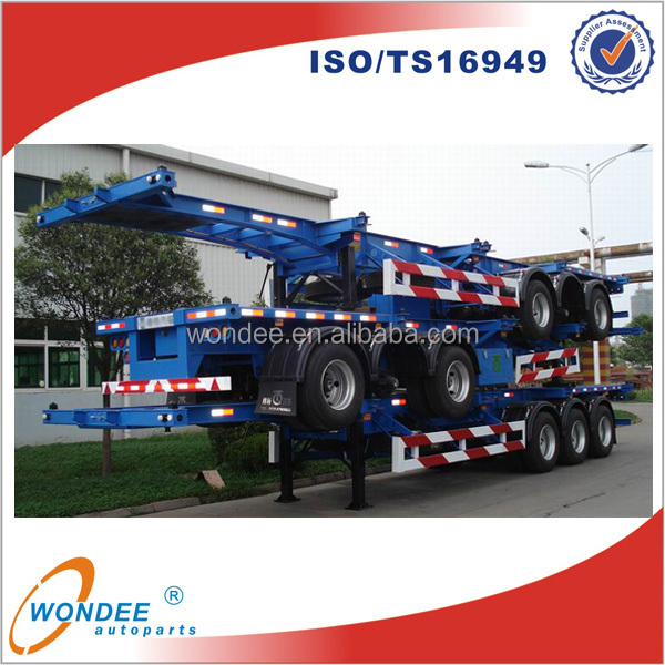 ISO Skeleton Container Semi Trailer 40T