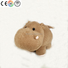 Cute hippo stuffed toy custom plush toy from BSCI and ICTI audited factory