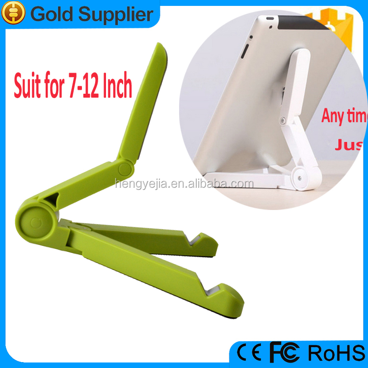 Wholesale alibaba best seller universal folding plastic tablet stand with lock