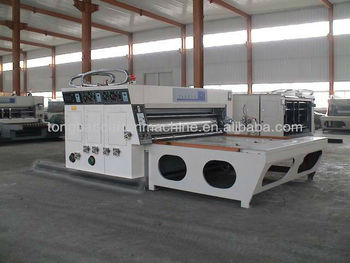 two color printing slotting machine