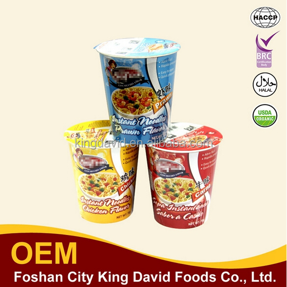 delicous and healthy mulltiple flavors optional plastic noodle cup ready quick cook