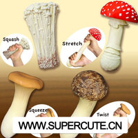 Popular TPR fungus shape stress relief toy