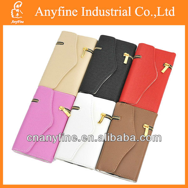 Magnetic Flip Leather Case Zipper Wallet Cover for Samsung Galaxy NOTE 3 N9000
