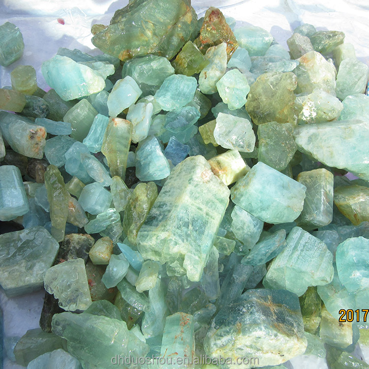 Natural Rough Aquamarine Gemstone Wholesale Aquamarine Stone