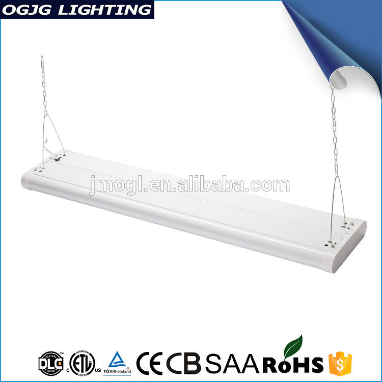 High Lumen Led Type Gym Hanging Lighting Large Power 200W Modern Linear Fixture Led Industrial Pendant Lighting