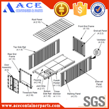 Fully range of shipping container spare parts