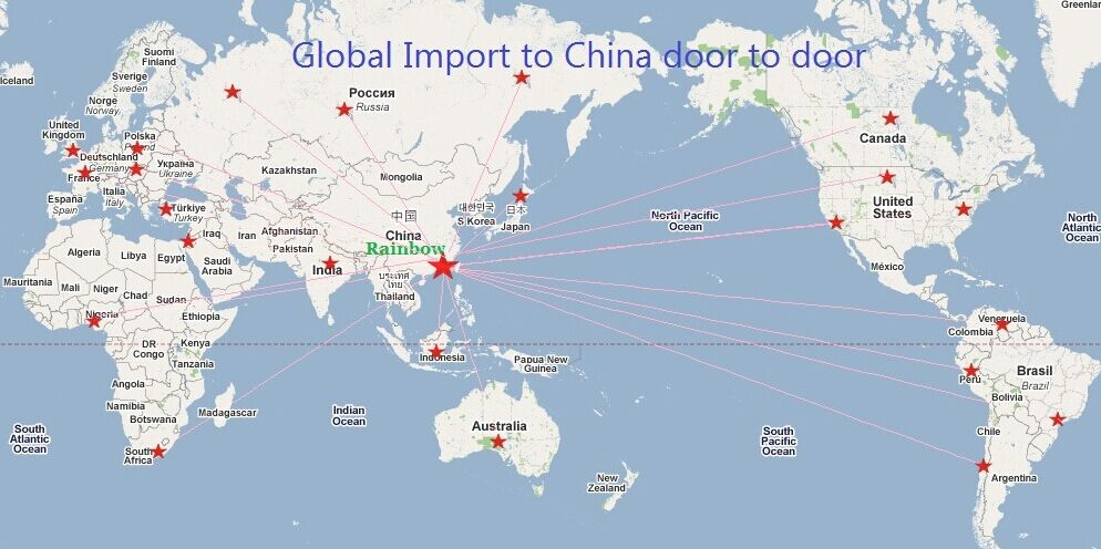 Import wines to China