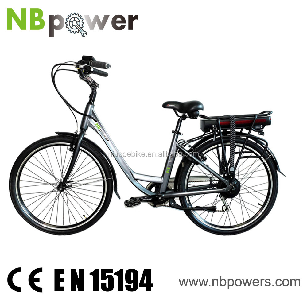 Top 10 ladies Casual road electric assisted bicycle with brushless geared motor