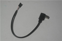 4pin male to Right angle USB B male cable 15cm top quality