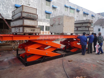 JINCHUANG 2ton used motorcycle lift table