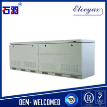 Galvanized steel outdoor battery enclosure/SK-12090 IT enclosure rack cabinet with air conditioner