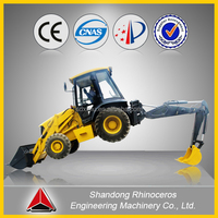 New and used cheap mini backhoe loader with price for sale , Chinese small backhoe loader and spare parts for sale ,wheel loade