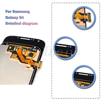 for samsung galaxy j1 ace j110 lcd screen for samsung galaxy i9500 s4