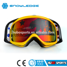 China wholesale custom logo anti scratch motorcycle helmet eyewear motocross googles