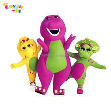 Top sale adult barney costumes for sale