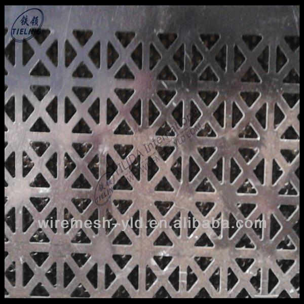 BV certification 3mm hole galvanized perforated metal mesh for decorative