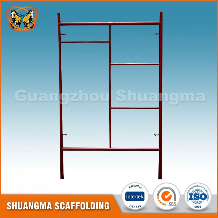 Best Prices high protected painted light duty metal frame scaffolding