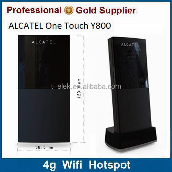 Alcatel One Touch Y800 2.4GHz Wi-fi Lte 4g pocket router
