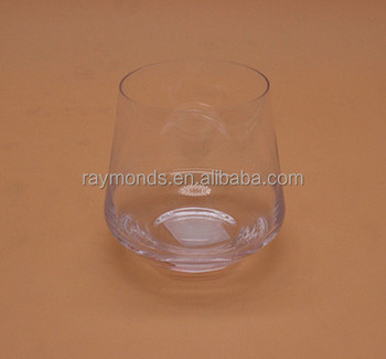 Round Bottom Whiskey Glass